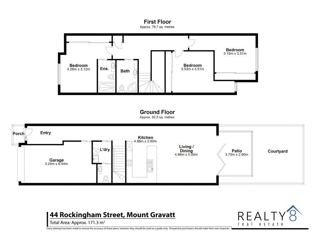 44 Rockingham - Floor Plan